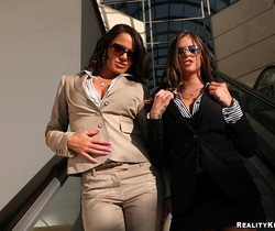Savannah & Rachel - Corporate Fluffer - Big Tits Boss