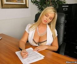 Abbey Brooks - Pink Slit - Big Tits Boss