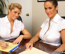 Brooke Haven & Carmella Bing - Bossy Booty - Big Tits Boss