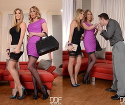 Eva Parcker & Lexi Lowe - Hot Legs and Feet