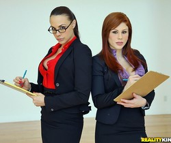 Chanel Preston & Brooklyn Lee - Teamwork - CFNM Secret