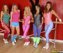 Diamond, Genna, Janet, Mariah & Raquel - Ten Titties - CFNM