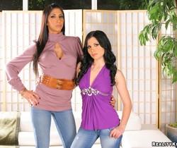 Kayla Carrera & Rebecca Linares - CFNM Secret