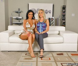 Persia Pele & Alana Evans - Cookies And Cream - CFNM Secret