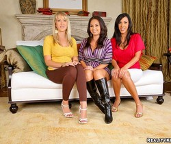 Holly West, Alana Evans & Veronica Rayne - Cum Cravers