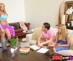 Brandi Love, Lia Lor - Soothing Sensation - Moms Bang Teens