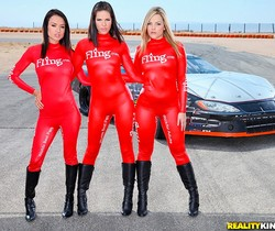 Alexis Texas, Bobbi Starr And Franceska Jaimes - Fast Ass