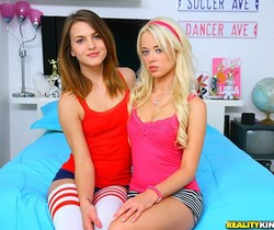 Rebecca Blue and Kasey Chase - Double Down - Pure 18