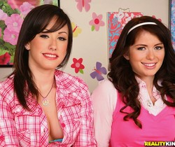 Ashlyn Rae & Jennifer White - Double Dose - Pure 18