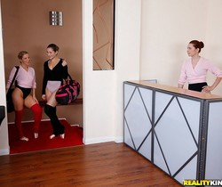 Dani Daniels, Ashley Fires and Melody Jordan