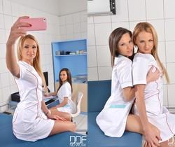 Ivana Sugar & Subil Arch - Euro Girls on Girls