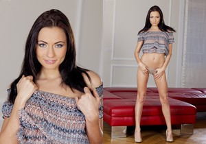 Michaela Isizzu Sticks Her Fingers In And Out Of Her Pussy