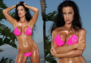 Laura Lee - Pink Scrunch Bottom Bikini