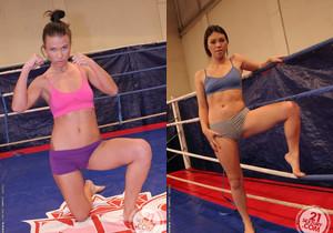 Tiffany Doll VS Denise Sky