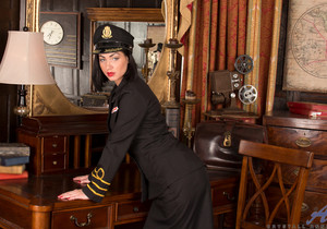 Crystall Anne - Sexy Stewardess