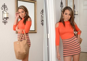 Sophia Ashton - Beautiful Back - 8th Street Latinas