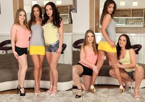 Tira James, Alessandra Jane, Wendy Moon - Euro Sex Parties