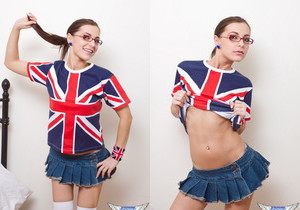 Kyra Mendez - Union Jack - SpunkyAngels