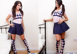 Megan Cox - School Girl - SpunkyAngels