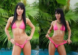 Rebecca Rios - Sexy Soaking - Mike In Brazil
