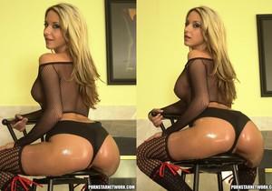 Sascha Slams Kinzie Kenner's Tight Bubble Butt