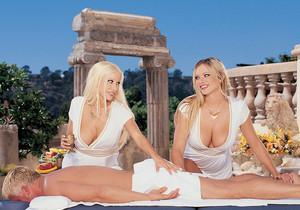 Gina Lynn and Brianna Banks