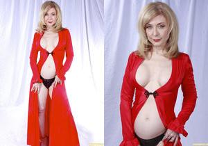 Nina Hartley Plays Woman in Red