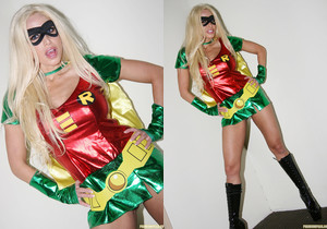 Gina Lynn - Holy Superhero Uniforms, Man
