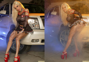 Gina Lynn - Big Engines, Bad Girls