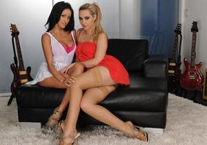 Breanne Benson and Sophia Knight's Stayover