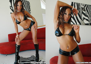 All ebony babe in sweet action