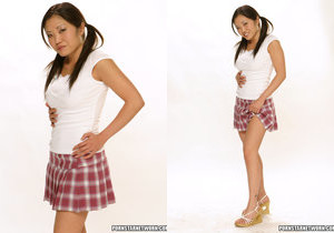 Kaiya Lynn Shows Us Her Tight Asian Body