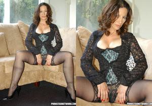 Melissa Monet Eats Black Dick