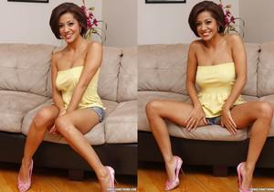 Strip and Fuck from Latina Vanessa Leon