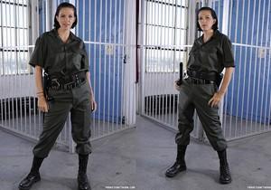 Roxanne Hall and Kara Price - Prison Play Time