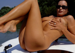Brigitte Gets Boned in the Bum on a Boat