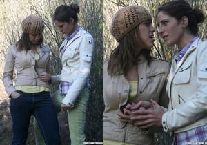 Audrey Rose and Kara Price Go for a Walk