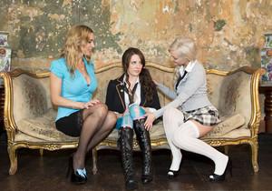 Tanya Tate, Faye Taylor, and Samantha Bentley