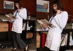 Annabelle Lee and Thelma Sleaze - Horny Lab Girls