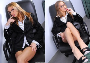 Jenna Haze Does Anal at the Office