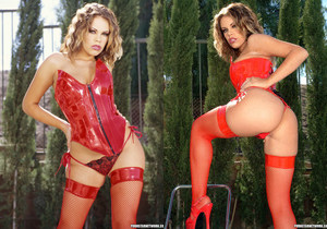 Gia Paloma - Temptress In Red