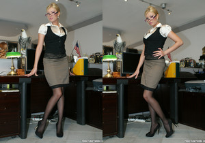 Donna Bell Gets Her Office Fantasy