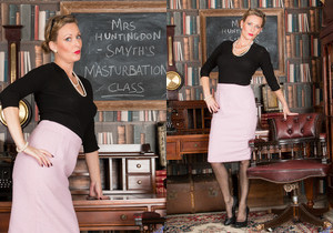 Mrs Huntingdon Smythe - Masturbation Class
