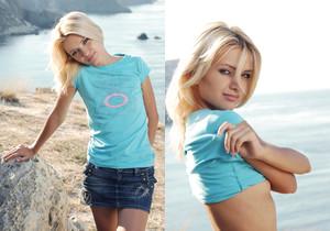 Blue T-shirt - Ketti