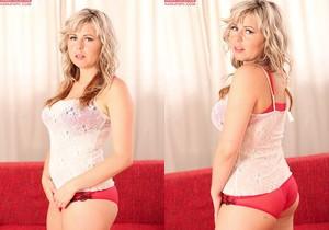 Becky Kosner - blonde with a vibrator