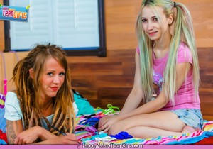 My First Girl Sex - Ranie Mae - Happy Naked Teen Girls