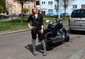 Angela - Angel biker