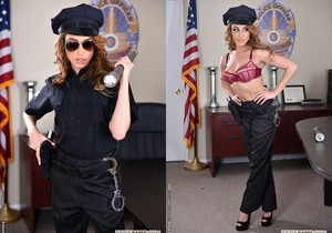 Christiana Cinn - Officer Kinky! - Footsie Babes