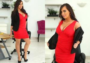 Sydney Leathers - Loving Leather - Big Tits Boss