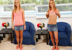 Jenny Jett spreading her legs - Nubiles